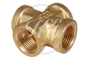 Pipe Fittings Manufacturer, Brass Four Way Female