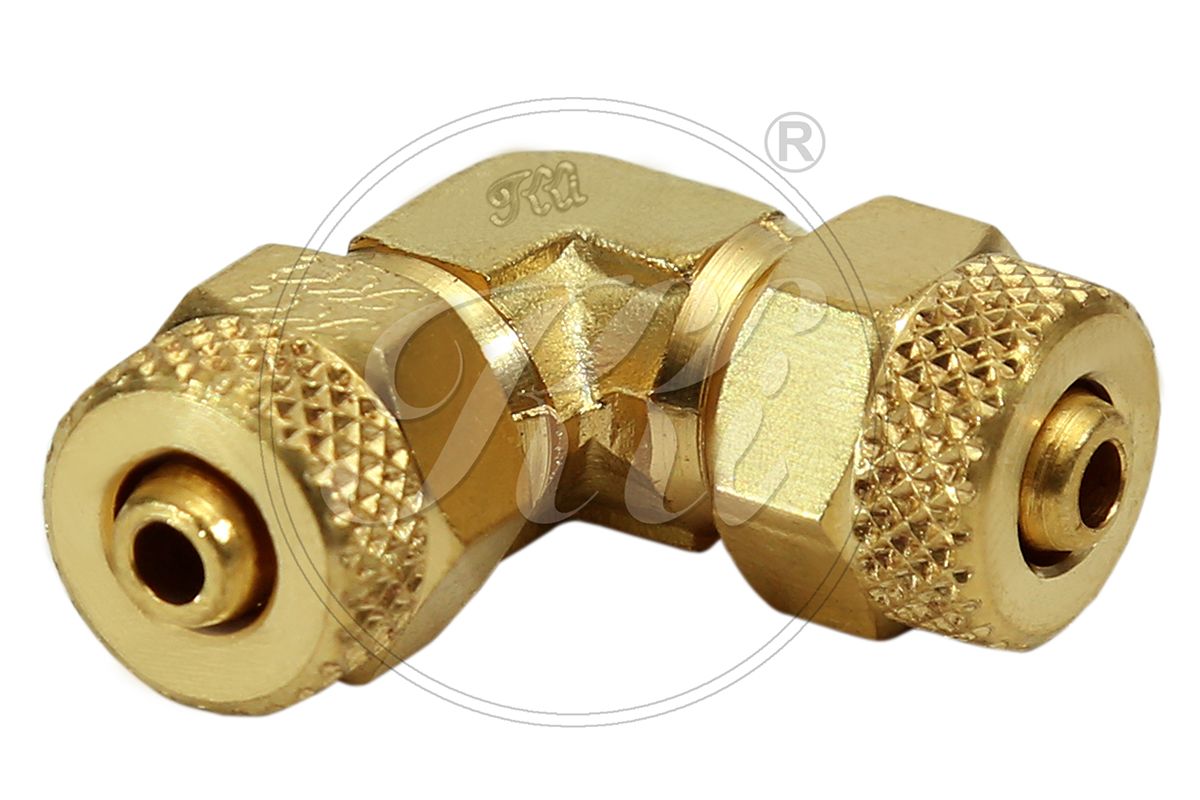 PU Fittings Maker, Brass Barbed Tube Fittings, Brass Equal Tube Elbow