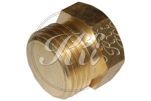 Brass Hex Male Plug Thread